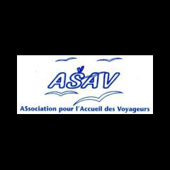 L'ASAV (Association pour l'accueil des voyageurs) a été créée en 1990 pour aider deux types de populations tsiganes installées en France : les Gens du voyage et les Roms roumains, qu'ils soient itinérants ou sédentarisés.