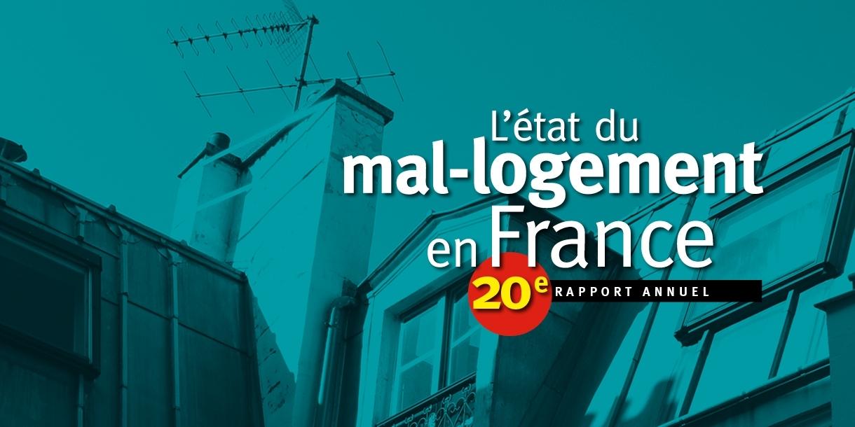 20e rapport sur «L'État du mal-logement en France»