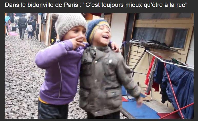 Reportage sur le bidonville de la Porte des Poissonniers – «C'est toujours mieux qu'être à la rue»