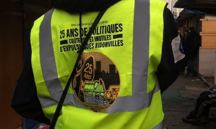 Communiqué RomParis – Expulsion le 3 février à 6h du bidonville de la Porte de Clignancourt